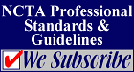 NCTA Professional Standards and Guidelines